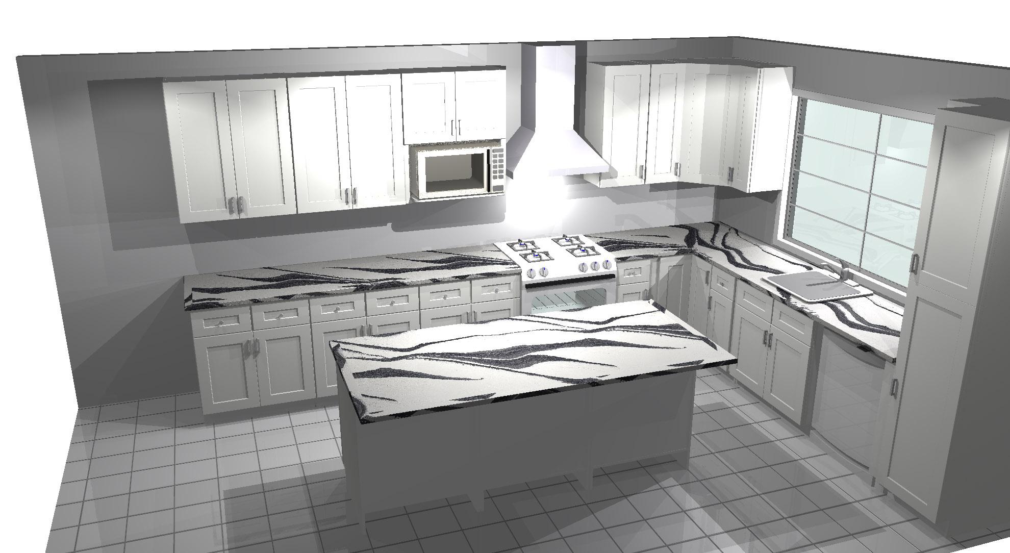 Kitchen redesign in Delaware