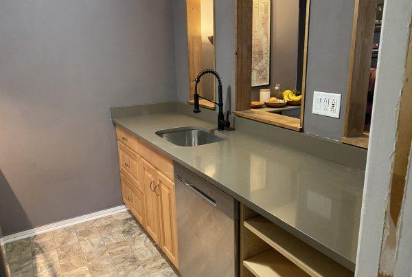 Cambria Quartz Countertop , kitchen design in Delaware
